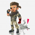 Illustrating BigBoss from Metal Gear Solid The Phantom Pain