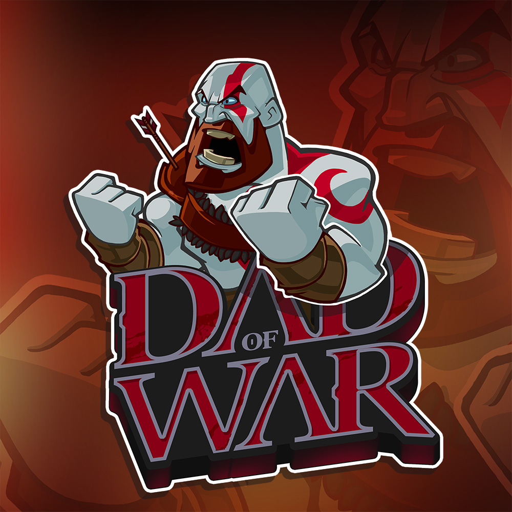 Dad of War Illustration