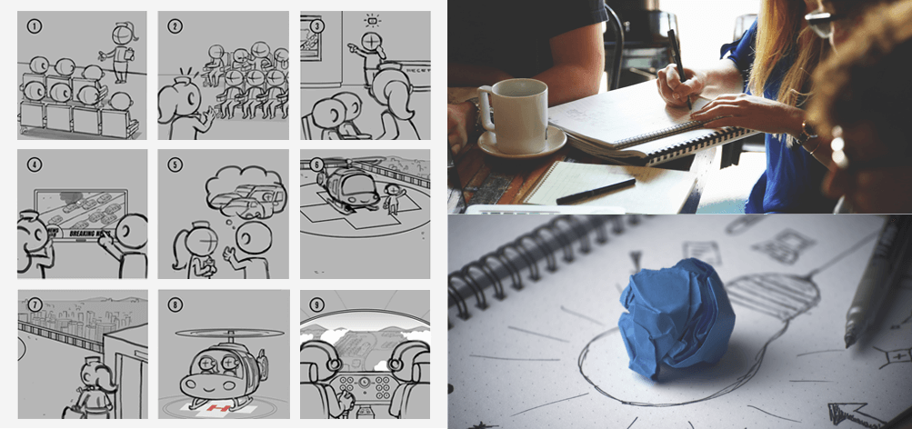 Childrens Book Illustration Storyboard